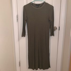 Olive thermal dress